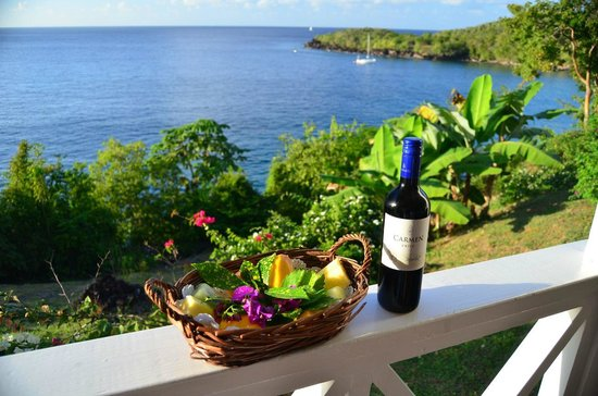 Ti Kaye Resort & Spa:                   Fruit Basket included with Lanmou Package