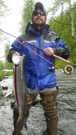 Alaska Kenai Fishing for Fun:                   Cooper Landing, Alaska