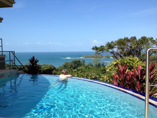Red Frog Beach Island Resort & Spa:                   Infinity pool at Villa with spectacular view