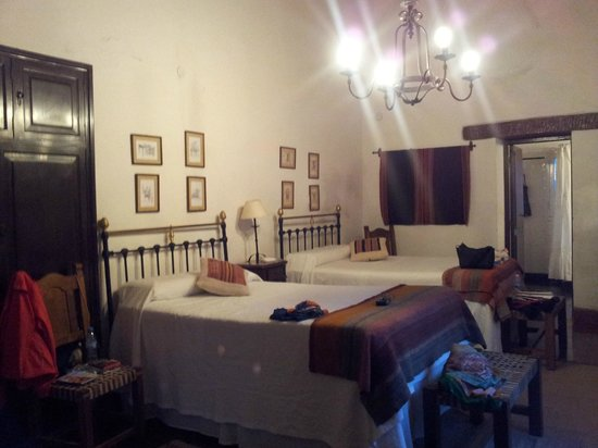 Estancia San Agustin:                   Notre chambre