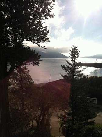 Outlook Inn on Orcas Island: wow