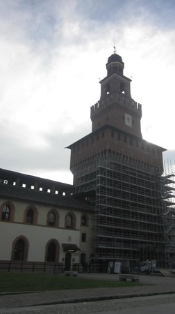 Castello Sforzesco: The Castle