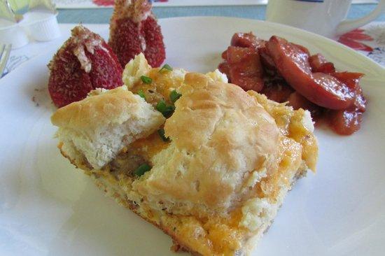 Tybee Island Inn: Breakfast