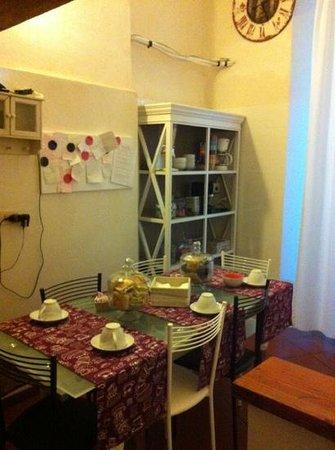 Mattire:                   zona cucina
