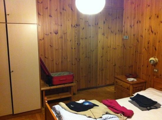 Hotel Vallecetta:                   camera