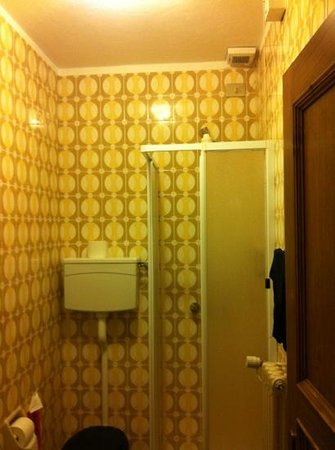 Hotel Vallecetta:                   bagno