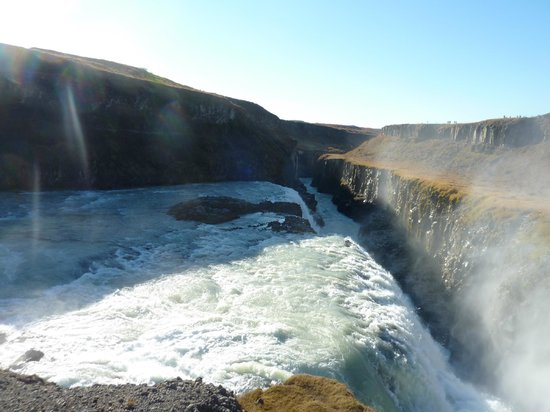 Iceland Horizon:                   Golden Circle Tour: Gullfoss Waterfall