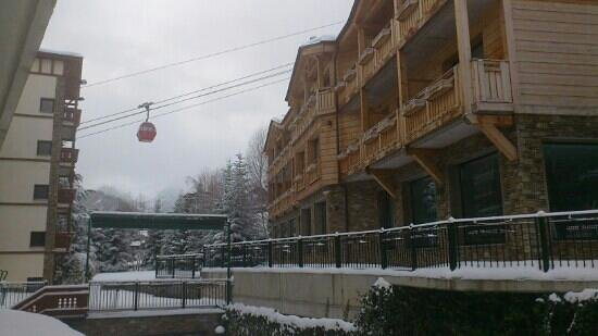 Hotel Rutllan: desde la terraza de la habitacion