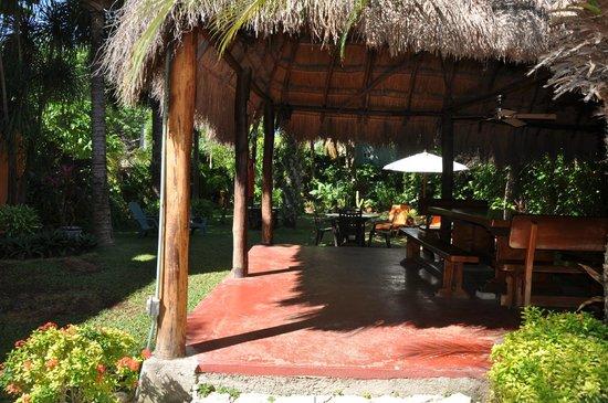 Hotel Lunata:                   The Gardent errace