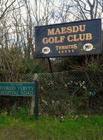 Llandudno Maesdu Golf Club: Maesdu Golf Club, Llandudno