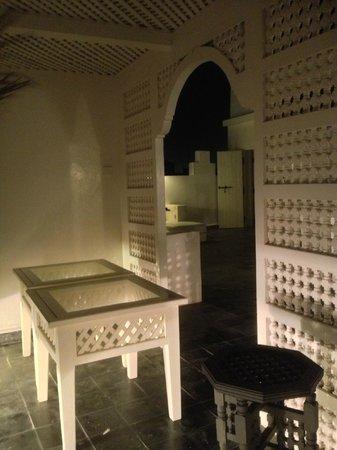 Riad Malaika:                                     Terrasse vue de nuit