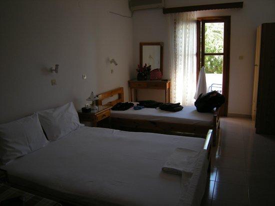 Villa Georgia:                                     Τα κρεβάτια