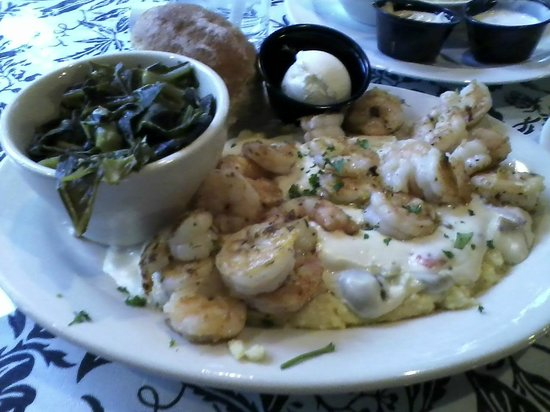 The Beachview Club:                                     Dinner at the Driftwood   Oh My cheese grits & shrimp w/ col