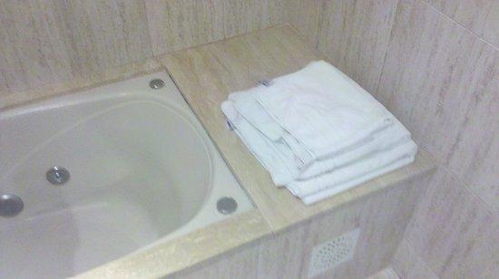 Hotel San Marcos:                                     Baño