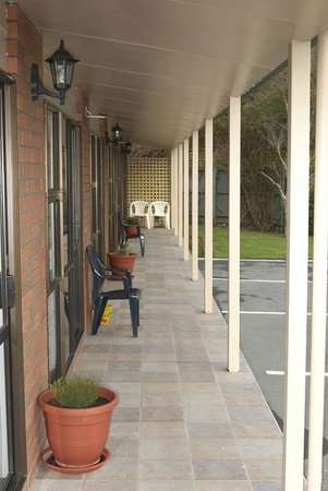 Arran Motel: Quiet,sheltered area
