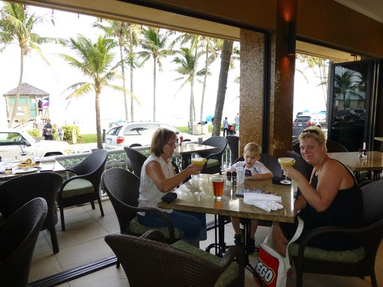 Patio Bar And Grill: After Beach