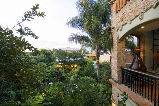Casa de Las Flores: Balcon