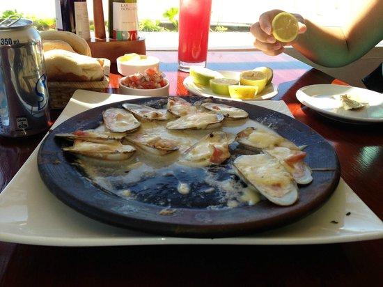 A toda Costa: Machas a la Parmesana