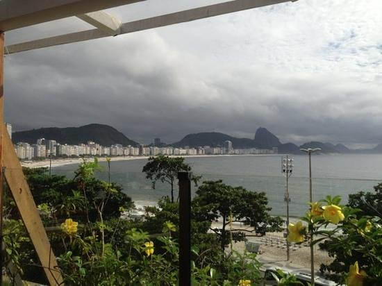 Sofitel Copacabana: view from Atlantis restaurant