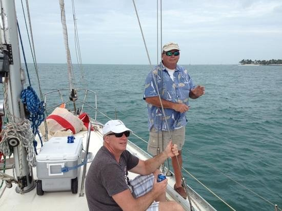 Blue Ice Sailing Charters:                                                                         Wrecker's Race 2013