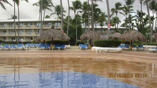 Sirenis Punta Cana Resort Casino & Aquagames:                                     Pool Area