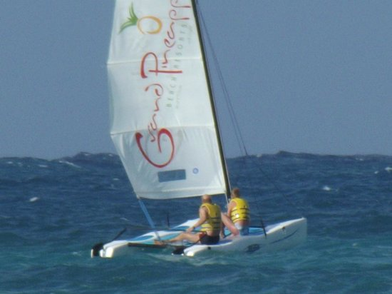 Pineapple Beach Club Antigua - All Inclusive:                   Fun sailing!