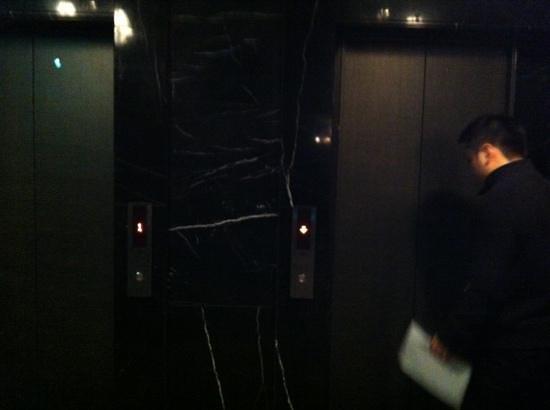 Hotel Amare :                   dark hallways