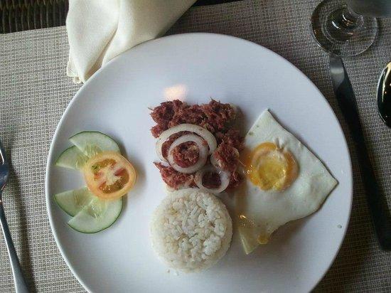 Acacia Tree Garden Hotel:                                     corn-beef