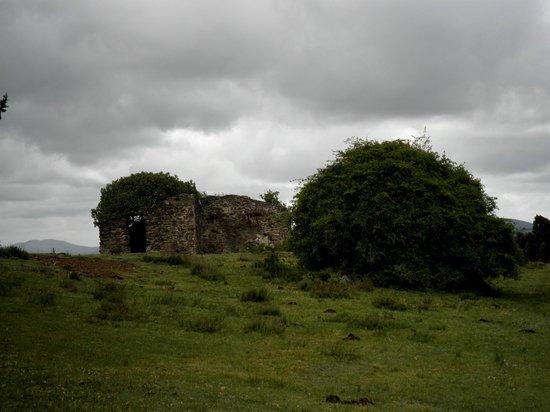 Parque Arqueológico Mina La Oriental: Edificación colonial, posible despacho
