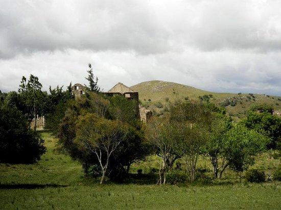 Parque Arqueológico Mina La Oriental: Vista de las sierras