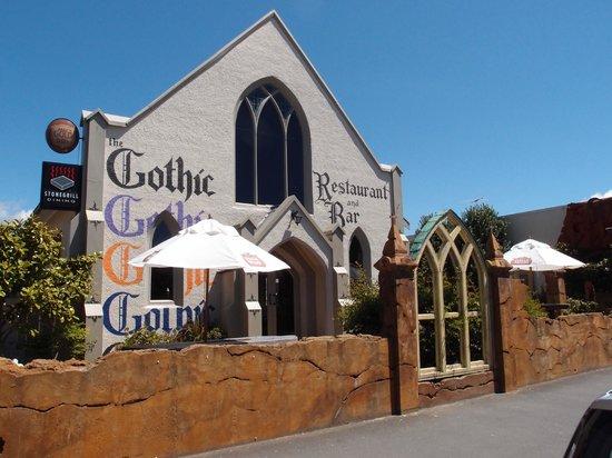 Gothic Restaurant and Bar:                   Gothic Gourmet Motueka - Street view