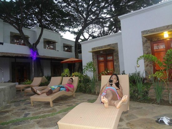 perfect place to relax Picture of Acacia Tree Garden Hotel