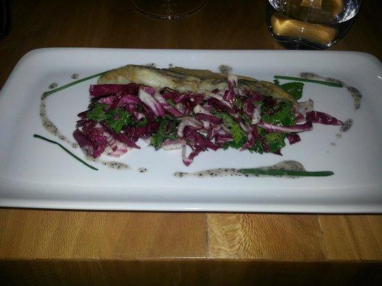 Restaurant Eetwaar:                   Codfish salad