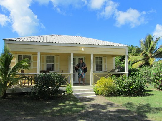 Antigua's Yepton Estate Cottages:                   Our cottage!