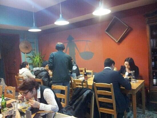 Wok Way :                                     la salle du restaurant