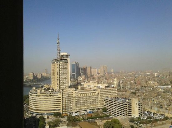 Ramses Hilton:                                     view from room balcony