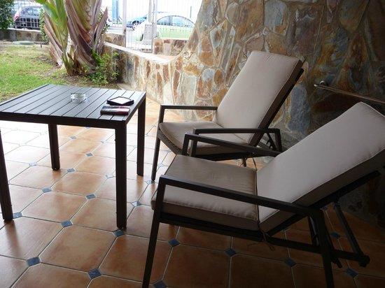 H10 Playa Meloneras Palace: Terrace area
