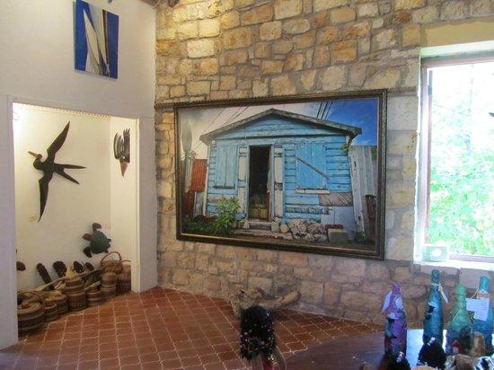 Harmony Hall Art Gallery:                   local art on display at Harmony Hall