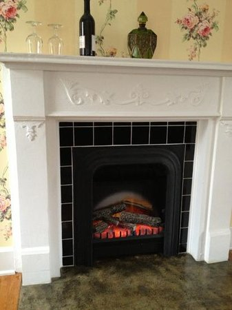 Pikeville Historic Mansion Bed & Breakfast:                                     A fireplace in each room