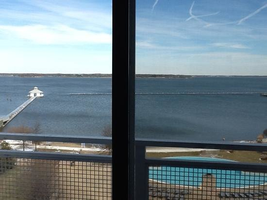 Hyatt Regency Chesapeake Bay Golf Resort, Spa & Marina: View from our room on the Regency level.