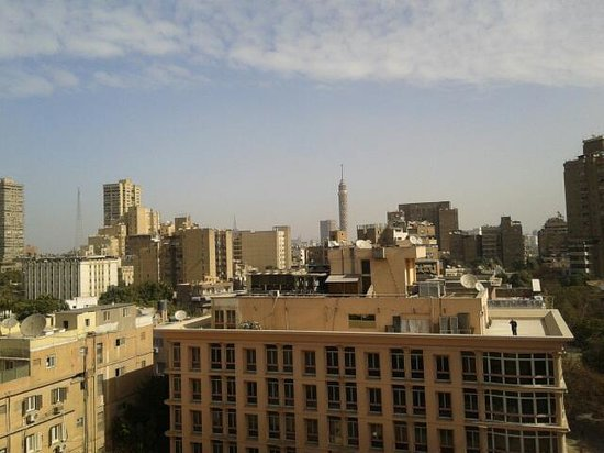 فندق كينج:                                     view from the room's window                               