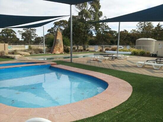 Camp Site Picture Of Wimmera Lakes Caravan Resort Horsham Tripadvisor