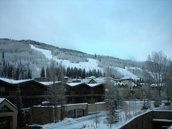Manor Vail Lodge:                   View from balcony.