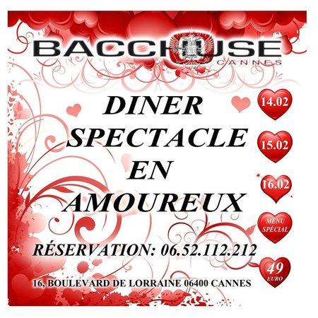 Bacchouse: Saint Valentin Cannes
