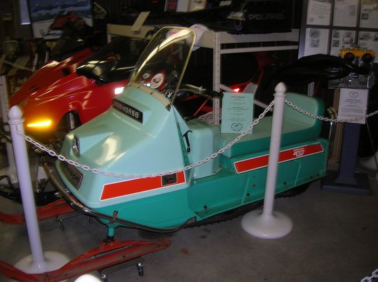 Snowmobile Hall of Fame and Museum:                   Just A Classic Sled