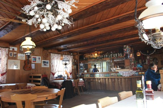 Rifugio Fanes:                   ristorante