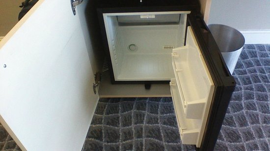 Radisson Blu Hotel, Port Elizabeth: The empty minibar :-)