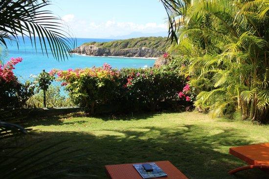 La Toubana Hotel & Spa:                   Jardin de la chambre