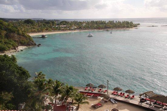 La Toubana Hotel & Spa:                   Vue panoramique
