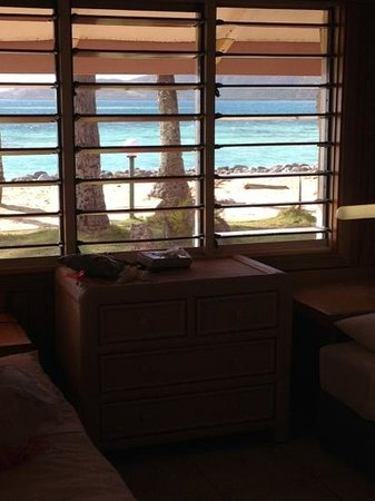 Plantation Island Resort: the view from the bedroom in 206
